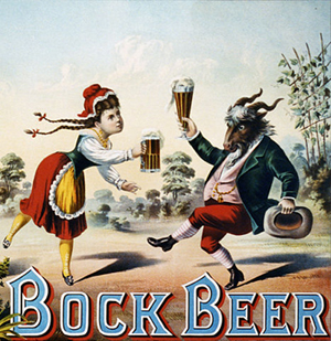 Bock Beer Advertising, 1882